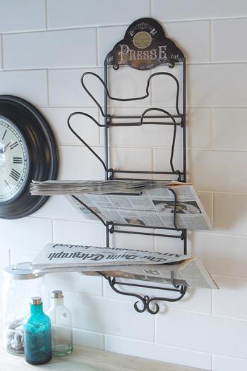 Newspaper Rack Presse French Kitchen Kitchen