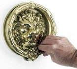 Sandringham Lion Knocker