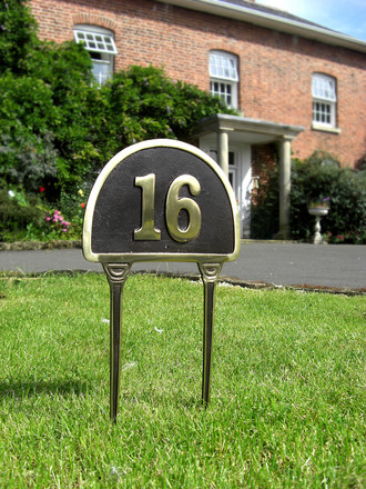 House number signs birthday yard signs - House number signs for yard ...