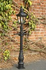 �Portrait� Minature Victorian Lamp Post