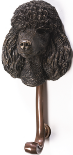 Poodle Dog Door Knocker