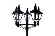 Quintuple Victorian Lamp Post Set V2