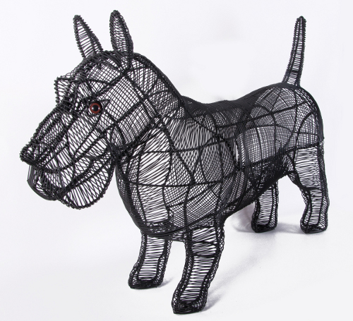 Quot Radley Quot Scottish Highland Terrier Topiary Black Country