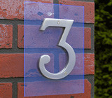 Wall Suspended House Number Signs