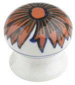 Ceramic cupboard knob - V3