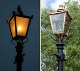 Victorian Complete Lamp Post Set