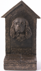 Warm Bronze Finish Cavalier King Charles Spaniel Door Stop