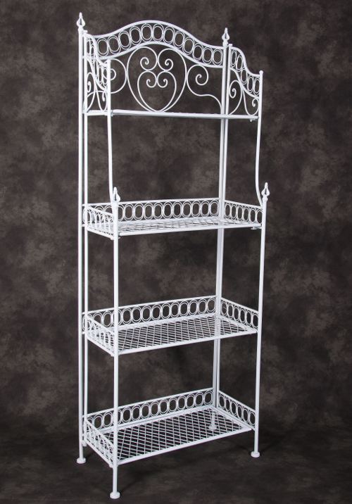 Scrolled Four Tier Plant Stand Greenhouse Accessories