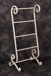 Cordelia Dainty Vintage Towel Stand Towel Rails And