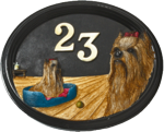 Yorkshire Terrier Plaque