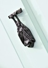 Bright Chrome Bat Door Knocker (140mm)