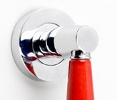 �Fire Engine� Ceramic Pull handle