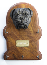 Key Holder - Key Hooks - Bullmastiff