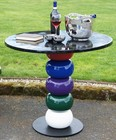 �Windsor Wonderland� Colourful Designer Garden Table and Chair