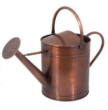 Parkins Patch Short Spout Copper Watering Can Garden