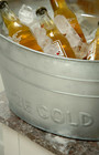 Drinks Cooler Galvanised Steel