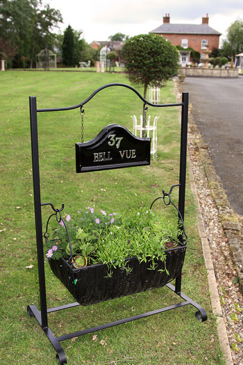 Whitehall Trough Planter House Hanging House Sign