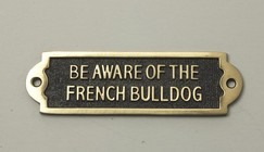 Be Aware of the french bulldog