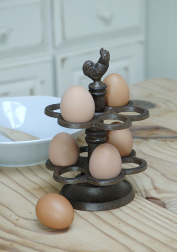 Millicent Meg Cast Iron Egg Holder Period French Kitchen