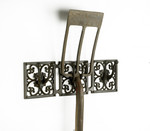 �Hoffman� Cast Iron �Triple Hook Rack� for all your Garden Tools
