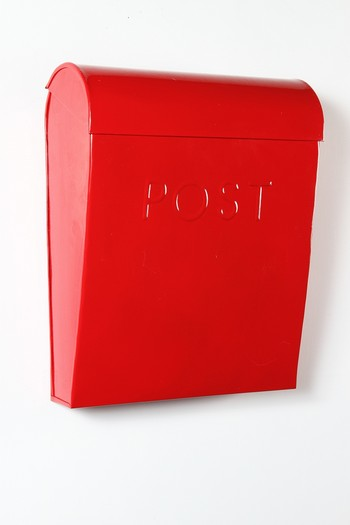 Wall Mounted Contemporary Styled Letter And Post Boxes