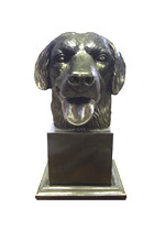 Specially Commissioned Giant Retriever Bust