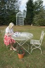 Amorettia Iron Garden Furniture set