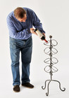 Dizzy Dolcetto Vintage, wrought iron Wine Rack