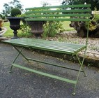 �Grannie Kate�s� vintage styled garden bench.