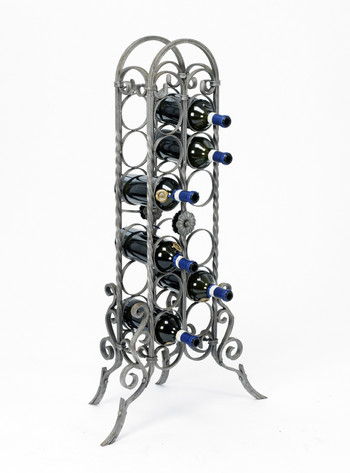 Lord sheraton cleve floor standing wine rack or wine holder floor standing wine racks wine - Wine racks wrought iron floor standing ...