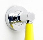 �Hiviz Yellow� Ceramic Pull Handle