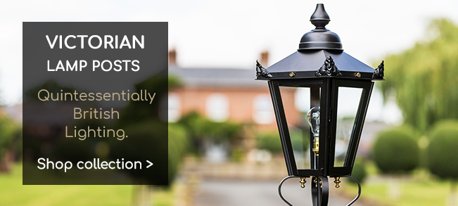 Victorian Style Lamp Post Sets